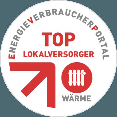 TOP-Lokalversorger Siegel Wärme