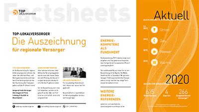 TOP-Lokalversorger Factsheets Allgemein