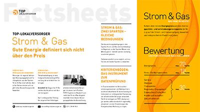 TOP-Lokalversorger Factsheets Strom&Gas